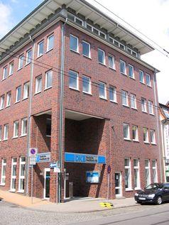 Eine Filiale der DKB-Bank