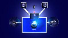 Überwachung: Desinformation inklusive (Foto: pixelio.de, Markus Vogelbacher)