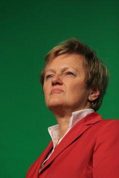 Renate Künast am Wahlabend der Bundestagswahl 2013