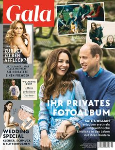 Cover GALA 19/2021 (EVT: 6. Mai 2021) Bild: GALA, Gruner + Jahr Fotograf: Gruner+Jahr, Gala