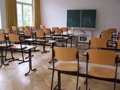Klassenzimmer: Tablets nicht sehr hilfreich. Bild: Manfred Jahreis/pixelio.de