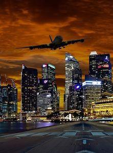 Fluglärm in der Nacht: hohes Gesundheitsrisiko.