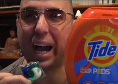 """Gefährliche """"Tide Pod""""-Challenge auf YouTube."""