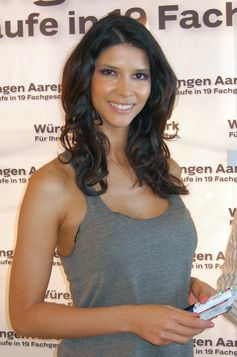 Micaela Schäfer in Würenlingen