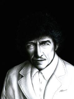 Bob Dylan Portrait (Symbolbild)