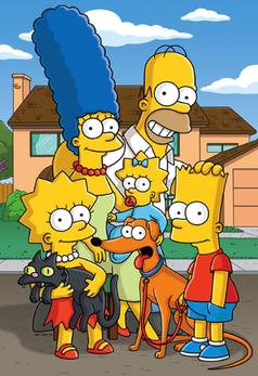Die Mitglieder der fiktiven Simpson-Familie. Bild: 20th Century Fox
