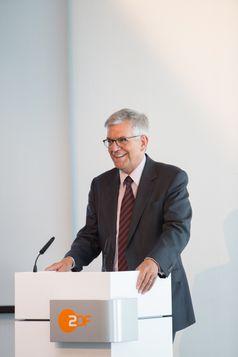 """ZDF-Intendant Dr. Thomas Bellut Bild: """"obs/ZDF/ZDF/ Milton Arias"""""""