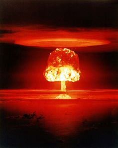 "Atombombe ""Castle Romeo"" auf dem Bikini-Atoll, 1954"