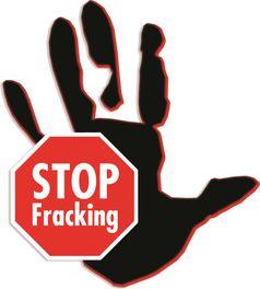 Protest gegen Fracking