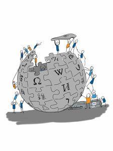Wikipedia: bleibt ein Werk vieler. Bild: flickr.com, Giulia Forsythe