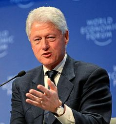 Bill Clinton Bild: World Economic Forum / commons.wikimedia.org