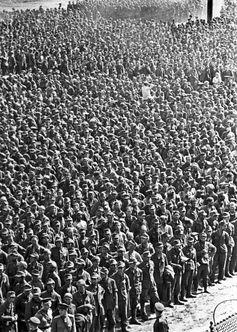 1944: Deutsche Kriegsgefangene in Moskau