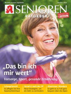 """Titelbild Senioren Ratgeber 10/2019.  Bild: """"obs/Wort & Bild Verlag - Gesundheitsmeldungen"""""""