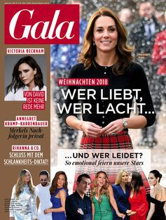"GALA Cover 51/2018, EVT 13.12.2018 / Bild: ""obs/Gruner+Jahr, Gala"""