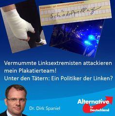 Information von Daniel Spaniel (AfD)