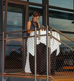 Janine Wilk bei ihrer Lesung in Essenbach am 09.06.2007. Bild: Matthias Pietka