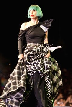 Lady Gaga in Rom, Italien. (2011)