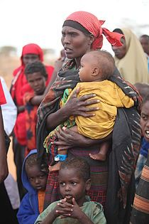Somalische Flüchtlinge in Dadaab, Kenia. Bild: Oxfam East Africa / de.wikipedia.org