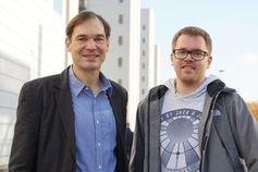 Harald Gröger (links) und sein Mitarbeiter Tobias Betke.
