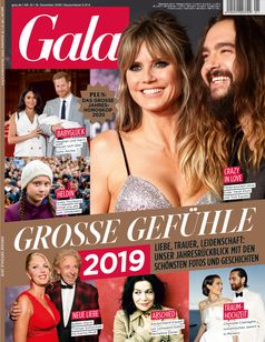 "GALA Cover 1/2020 (EVT: 19. Dezember 2019) / Bild: ""obs/Gruner+Jahr, Gala"""