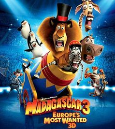 """Madagaskar 3"" Kinoplakat"