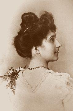 Jeanne Calment vor der Hochzeit im Jahr 1895