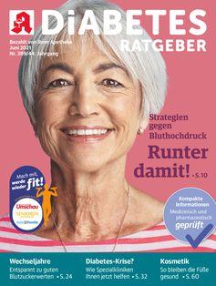 Titelbild Diabets Ratgeber Juni 2021 Bild: Wort & Bild Verlag Fotograf: Wort & Bild Verlag