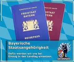 Wahlplakat der Bayernpartei