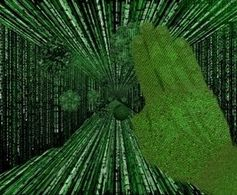 Griff nach Daten. Bild: fellex, pixelio.de