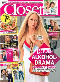 "Closer 37/2017 Bild: ""obs/Bauer Media Group, Closer/na"""
