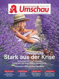 """Apotheken Umschau Titelcover, Ausgabe 9A/2020.  Bild: """"obs/Wort & Bild Verlag - Gesundheitsmeldungen"""""""