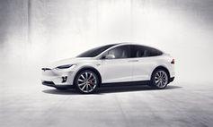 "Teslas ""Model X""."