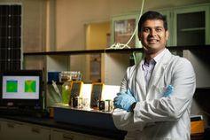 Veera Gnaneswar Gude nutzt Bakterien als Sensoren. Bild: msstate.edu