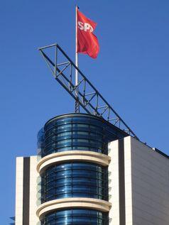 Willy-Brandt-Haus (SPD): Die Spitze des Gebäudes