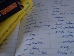 Vokabeln lernen: Muttersprache klingt immer mit.