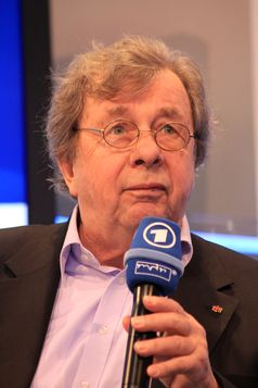 Hellmuth Karasek auf der Leipziger Buchmesse 2012
