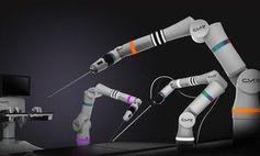 """""""Versius"""": Der Roboterarm wird vom Chirurgen geführt. Bild: cmedrobotics.com"""