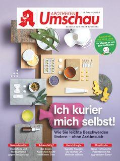 Titelcover Apotheken Umschau 1B/2020. Bild:     Wort & Bild Verlag