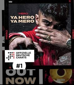"Cover Album ""Ya Hero Ya Mero"" von Rapper Mero"