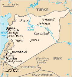 Syrien Irak Karte.Syrien Mindestens 31 Tote Bei Doppelanschlag In Homs Extremnews