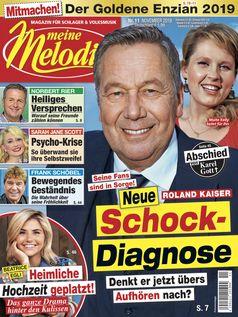 """Cover Meine Melodie 11/2019 / Bild: """"obs/Meine Melodie"""""""