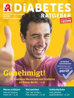 Titelbild Diabetes Ratgeber Mai 2021 Bild: Wort & Bild Verlag Fotograf: Wort & Bild Verlag