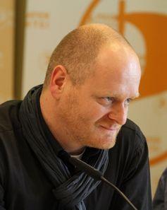 Bernd Schlömer (2012) auf einem Bundesparteitag der Piratenpartei