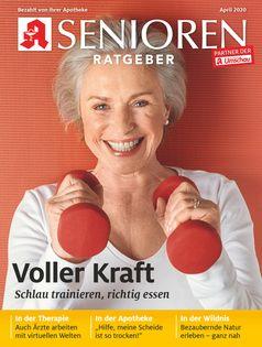 """Titelcover Senioren Ratgeber, April 2020 /  Bild: """"obs/Wort & Bild Verlag - Gesundheitsmeldungen"""""""