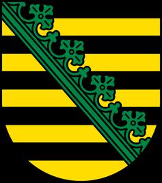 Wappen von Sachsen