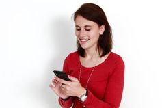 Entspanntes Tippen: App mindert Handy-Stress. Bild: Julien Christ/pixelio.de