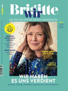 """Cover BRIGITTE WIR 02/2018. Bild: """"obs/Gruner+Jahr, BRIGITTE WIR"""""""