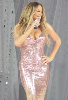 Mariah Carey performing on Good Morning America, 2013