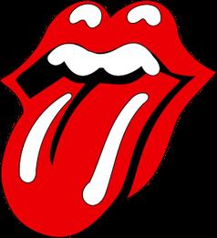 Die Zunge, das Logo der Rolling Stones. Design: John Pasche, 1971