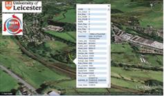 Blick in Google Earth: Da sollte ein Kraftwerk stehen. Bild: le.ac.uk